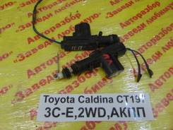 Актуатор замка двери Toyota Caldina Toyota Caldina 1999, передний