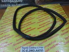Уплотнитель двери Toyota Caldina Toyota Caldina 1999.04, левый задний