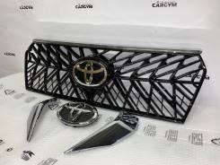 Решетка радиатора. Toyota Land Cruiser Prado, GDJ150, GDJ150L, GDJ150W, GDJ151W, GRJ150, GRJ150L, GRJ150W, GRJ151W, KDJ150, KDJ150L, TRJ150, TRJ150L...