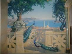 Роспись стен и потолков, портреты , пейзажи, натюрморты