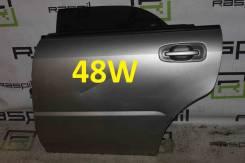 Дверь боковая Subaru Impreza GG#/GD# [задняя, левая, цвет 48W]