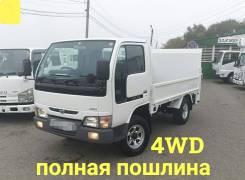 Nissan Atlas. 4WD, борт 2 тонны + аппарель, 3 200куб. см., 2 000кг., 4x4