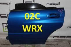 Дверь боковая задняя левая Subaru Impreza WRX STI [цвет 02С]