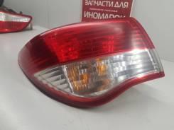 Фонарь задний наружний (левый) [265554AA0A] для Nissan Almera III