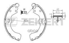 Колодки Торм. Бараб. Зад Ford Maverick Iii 01- Mazda 626 V 97- Premacy 99- Tribute (Ep) 00- Zekkert арт. bk-4025