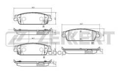 Колодки Торм. Диск. Зад Cadillac Escalade Iii 06- Chevrolet Tahoe (Gmt900) 07- Zekkert арт. bs-3016