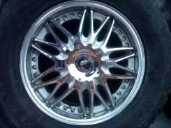 """Комплект колес на дисках Lodio drive cresta. 8.0x18"""" 6x139.70 ET5 ЦО 108,0мм."""