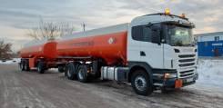 Scania. бензовоз с прицепом, 11 700куб. см., 20 202кг., 6x4