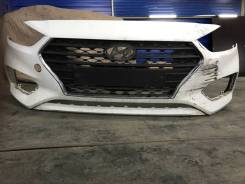 Бампер Hyundai Solaris 2017-