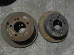 Диск тормозной задний (комплект) (б/у) Kia Optima 2 (Magentis 2 (GE, MG