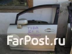 Дверь передняя левая на Nissan Tiida Tiida Latio C11