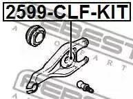 Ремкомплект вилки сцепления Citroen/Peugeot 307/Teepe