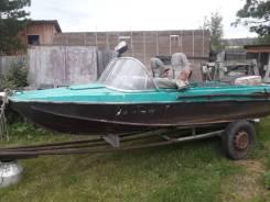 Казанка-5М4. двигатель подвесной, 40,00л.с., бензин