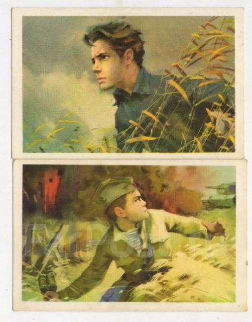 Набор открыток пионеры герои