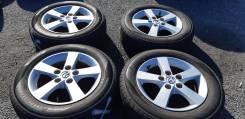 Колёса 195/65 R15 лето на литых дисках =Mazda = 5*114.3 из Японии.