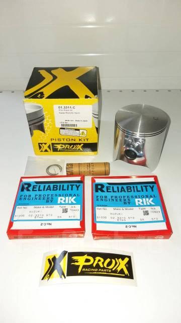 Поршень Pro-X 01.3311. C 66.95mm Suzuki RMX250 89~00