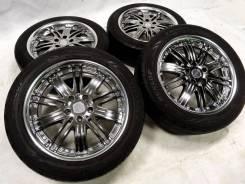 "Диски Work Varianza с шинами Dunlop 215x55x18. 7.5x18"" 5x114.30 ET40 ЦО 73,1мм."