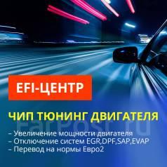 Ремонт автоэлектроники, Чип-тюнинг: EВРО2, прогр. откл EGR, DPF, AdBlue