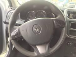 Подушка безопасности водителя. Renault Sandero, 5S D4F, H4M, K4M, K7M