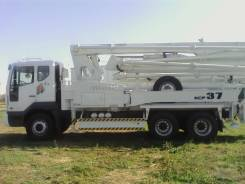 KCP 37ZX170. Автобетононасос KCP37ZX5170(37м), 10 964куб. см., 36,30м.