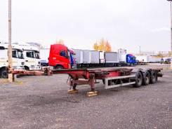 Schweriner. Полуприцеп-контейнеровоз CS 40G 2002 г/в, 33 480кг.