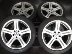 "Колёса Mercedes CLS W219 оригинал 18Х8.5J+28. +18 разновыносные на лете. 8.5/8.5x8.5"" 5x112.00 ET18/28 ЦО 66,6мм."