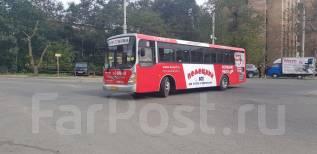 Реклама на автобусах - месяц размещения в подарок