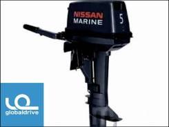 Nissan Marine. 5,00л.с., 2-тактный, бензиновый, нога S (381 мм), 2019 год