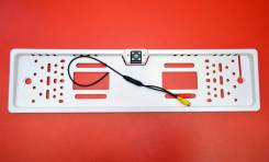 Камера заднего вида на рамке Energy белая 4 LED