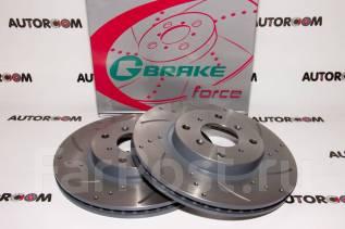 Диски тормозные перфорированные G-brake GFR-02253 (Передние)
