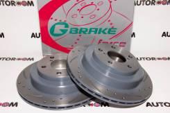 Диски тормозные перфорированные G-brake GFR-02950 (Задние)