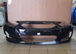 Бампер передний Hyundai Solaris [производство Россия]