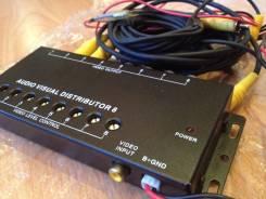 Видео контроллер ( разветвитель), смеситель на 8 каналов из Japan