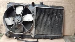 Радиатор охлаждения двигателя. Toyota: Sprinter, Carina, Corona, Corolla Levin, Sprinter Trueno, Corolla, Carina II 2E, 5AF, 5AFE, 5AFHE, 4AF, 4AFE