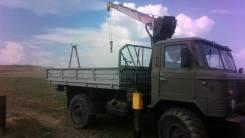 ГАЗ 66. Газ 66 манипулятор, 3 000кг., 4x4