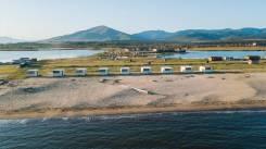 Продается песочный пляж район Безверхово. 50 000кв.м., собственность, электричество, вода. Фото участка