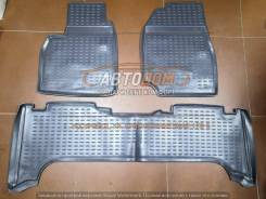 Коврики. Toyota Land Cruiser, FZJ100, FZJ105, HDJ100, HDJ100L, HDJ101K, HZJ105, HZJ105L, UZJ100, UZJ100L, UZJ100W, J100 1FZFE, 1HDFTE, 1HZ, 1HZZ, 2UZF...