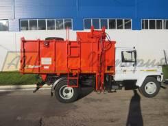 САЗ. Газон мусоровоз, 4 400куб. см.