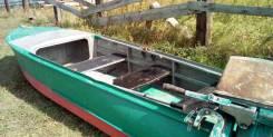 Казанка. 1961 год, длина 4,75м., двигатель подвесной, бензин