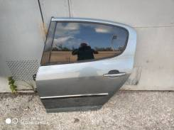 Задняя дверь Peugeot 407 2004-2010, пежо. седан
