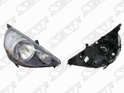 Фара Honda FIT 01-07 5D левая черная 217-1153BL SAT