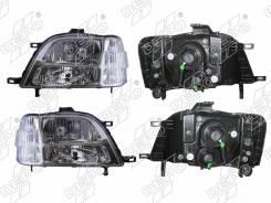 Фары Honda STEP Wagon 96-01 комплект хрусталь 217-1136P-RD-B DEPO