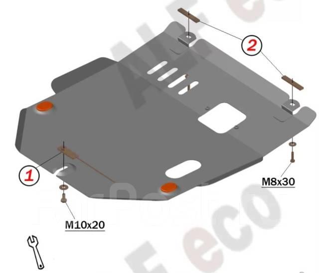 Защита картера Honda Mobilio Spike / Mobilio 2001-2008г 4WD