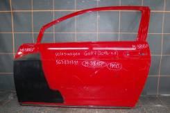 Дверь передняя левая для Opel Corsa D