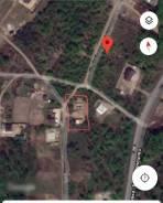 Продам участок с незавершённым строительством. 1 500кв.м., аренда, электричество, вода. План (чертёж, схема) участка