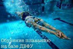 Обучение плаванию детей и взрослых на базе ДВФУ, о. Русский