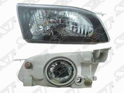 Фара Toyota Corolla 97-00 черный хрусталь правая ST-212-1181BR SAT