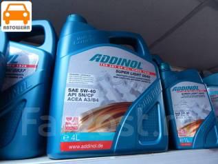Addinol. 5W-40, синтетическое, 4,00л.