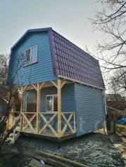 Строим дачные домики, отсыпка участка, благоустройство, щитовые