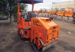 Завод ДМ DM-02-VD. Каток тротуарный двухвальцовый вибрационный DM-02-VD, 1 000куб. см.